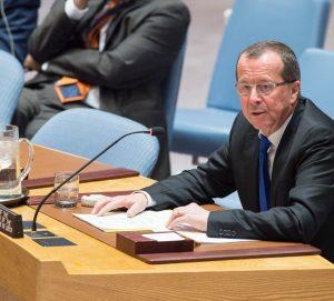 UN envoy Martin Kobler