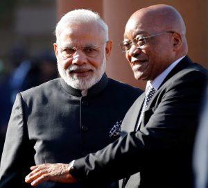 PM Narendra Modi and President Zuma
