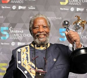 South African actor Joe Mafela