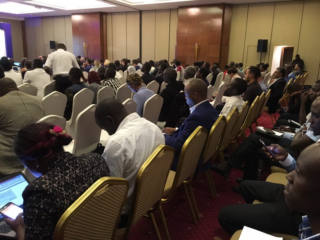 Full house at Finnovation Africa Uganda 2017