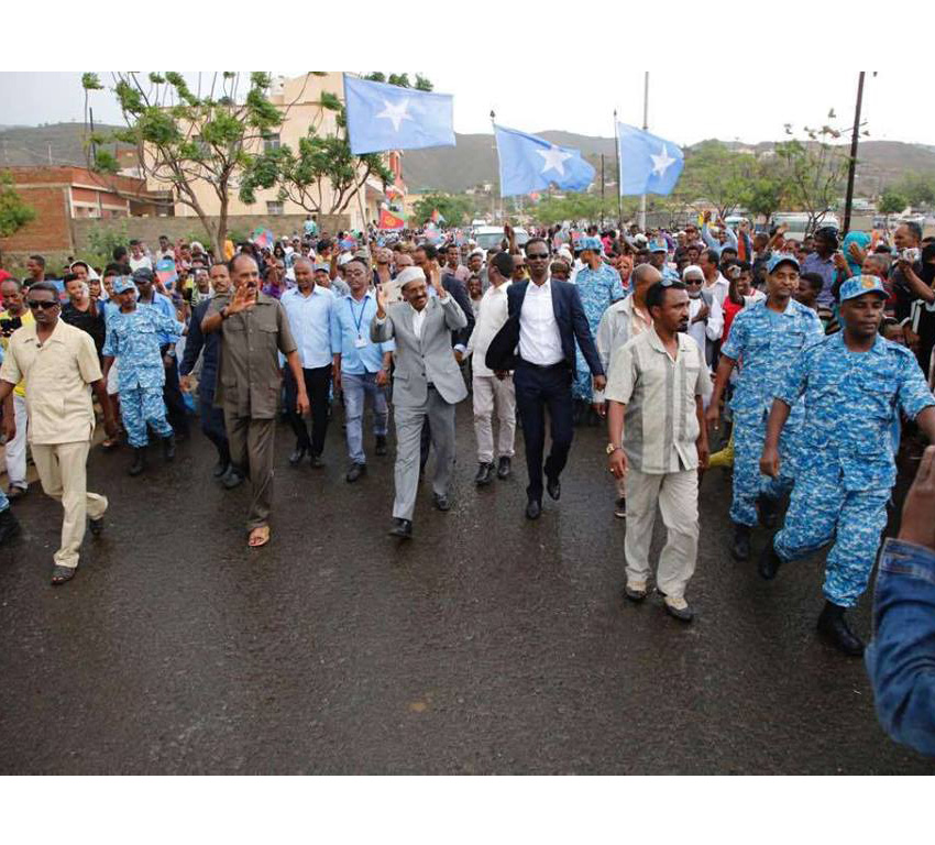 For the first time in history, Somalia and Eritrea build a bilateral