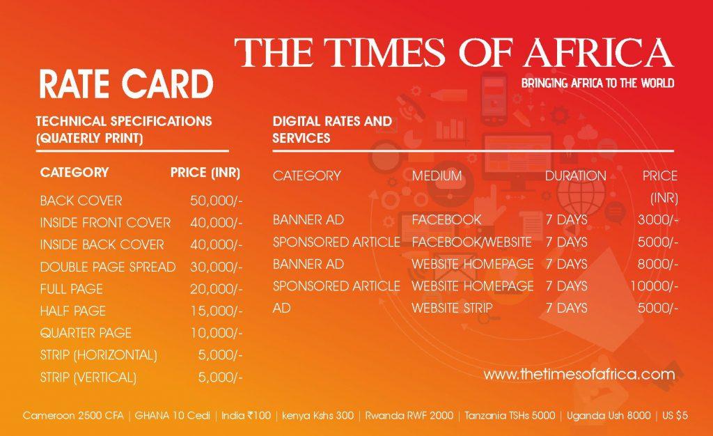 TOA_RATE CARD
