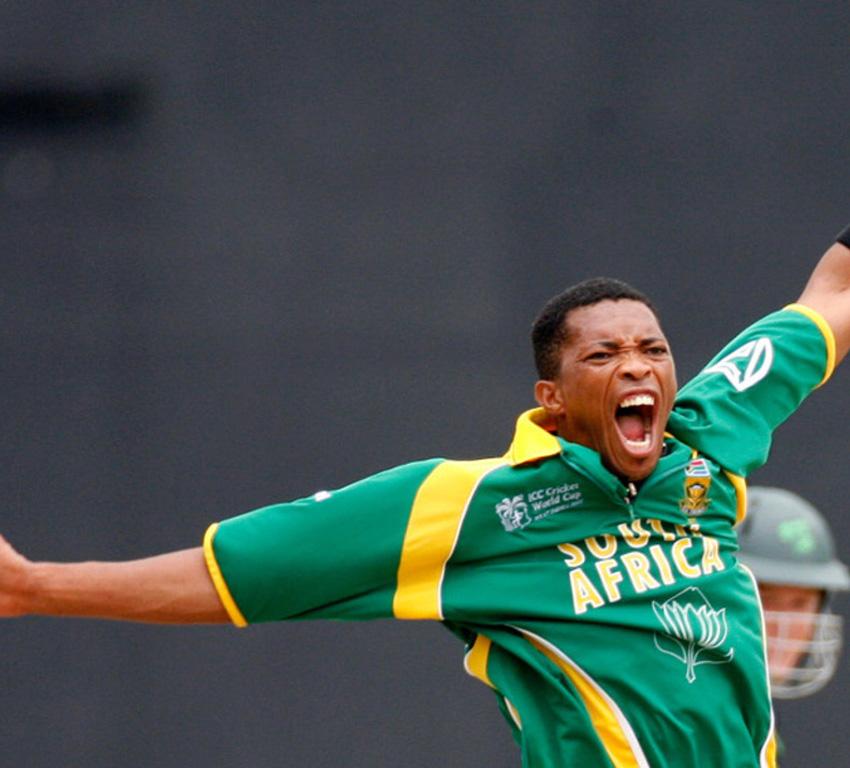 South African cricketer Makhaya Ntini