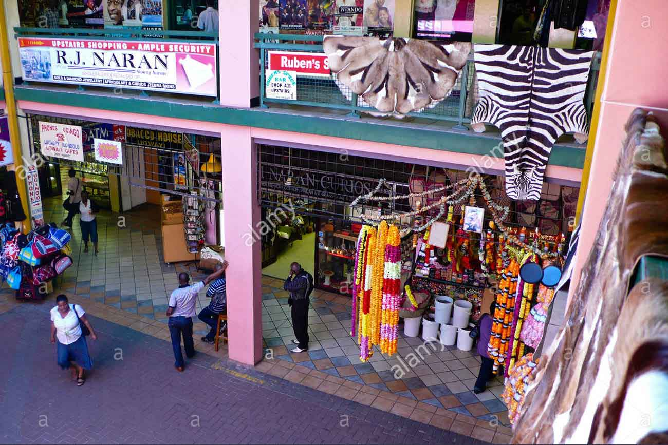 Indian Market in Victoria Street Durban South Africa
