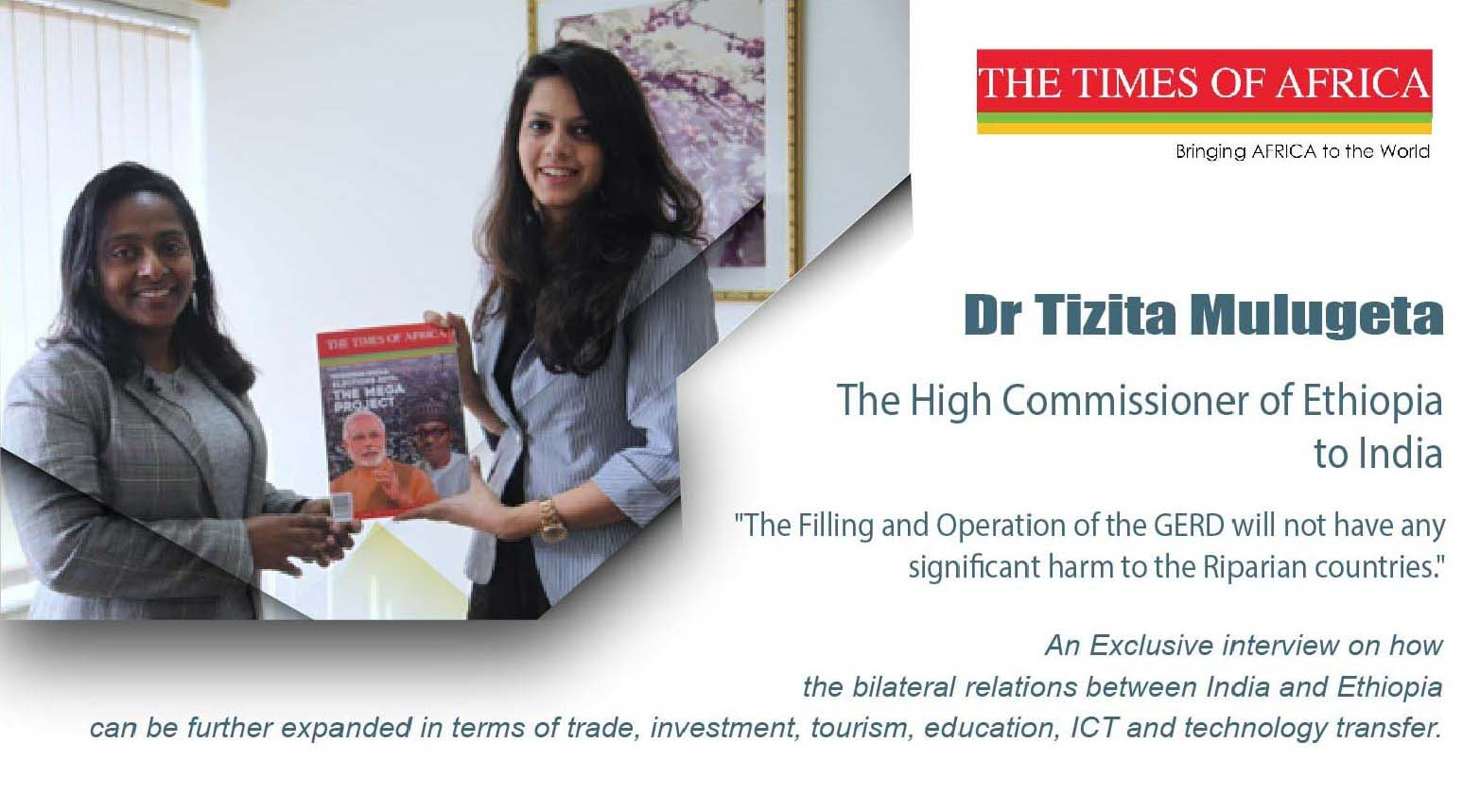 Interview with the High Commissioner of Ethiopia Dr Tizita Mulugeta
