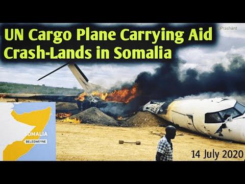 UN cargo plane crash