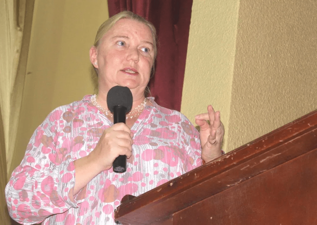 Ambassador of Sweden to Liberia, Ingrid Wetterqvist