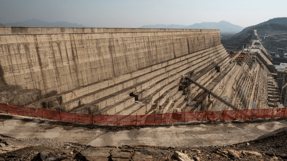 water level risen in the dam is at its highest in four years
