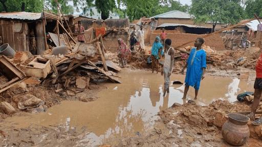 Floods in Nigeria make food crisis