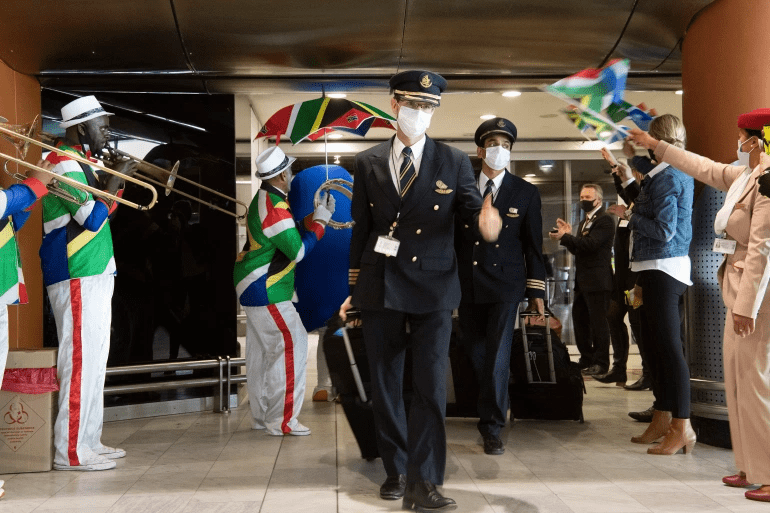 South africa airports open after lockdown