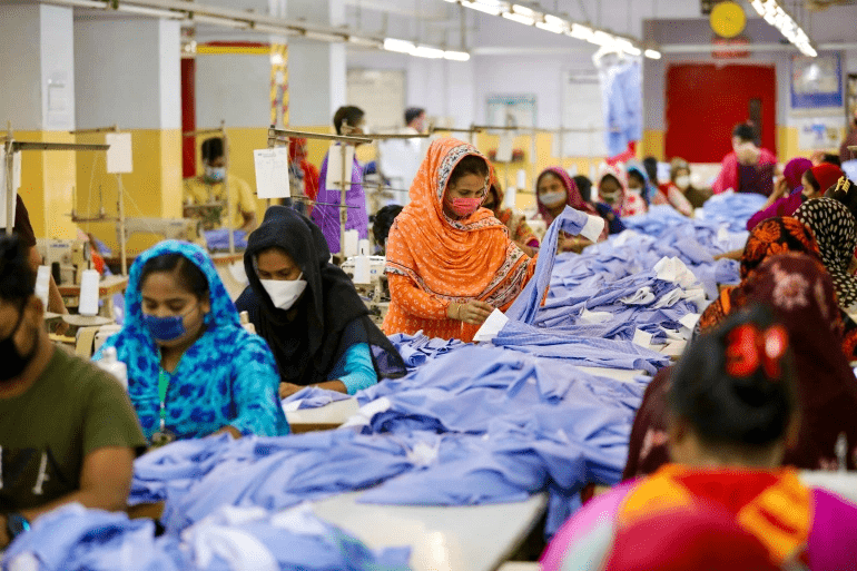 Garment workers risk losing jobs during the crisis
