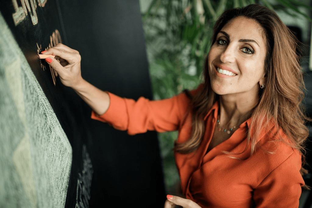 Dina el Mofty Injaz Egypt founder