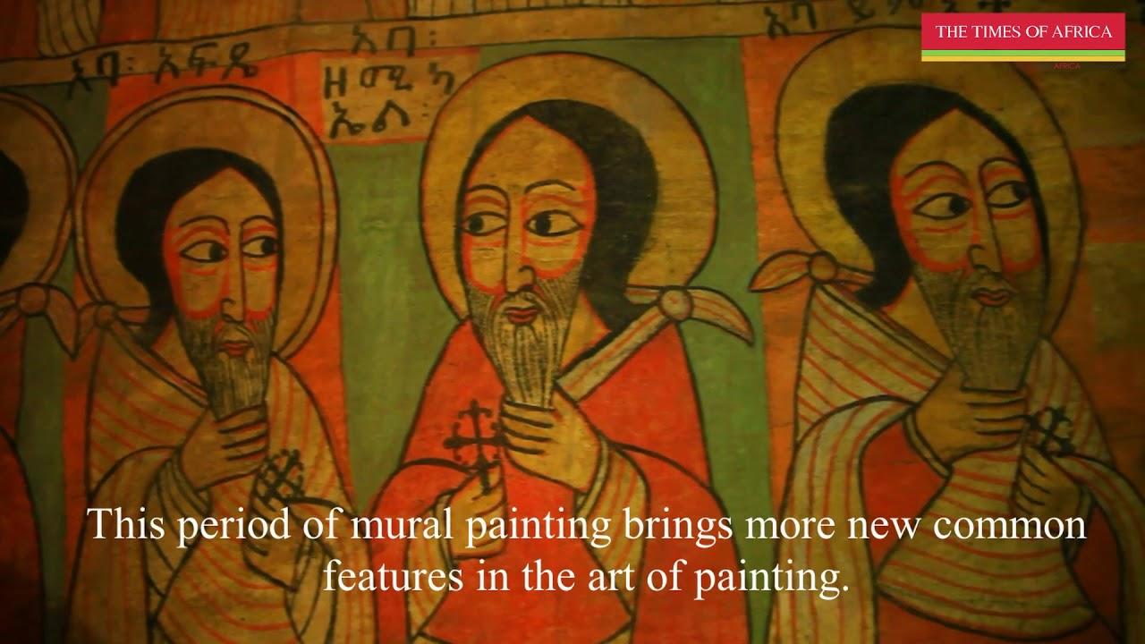 Ethiopian ancient paintings