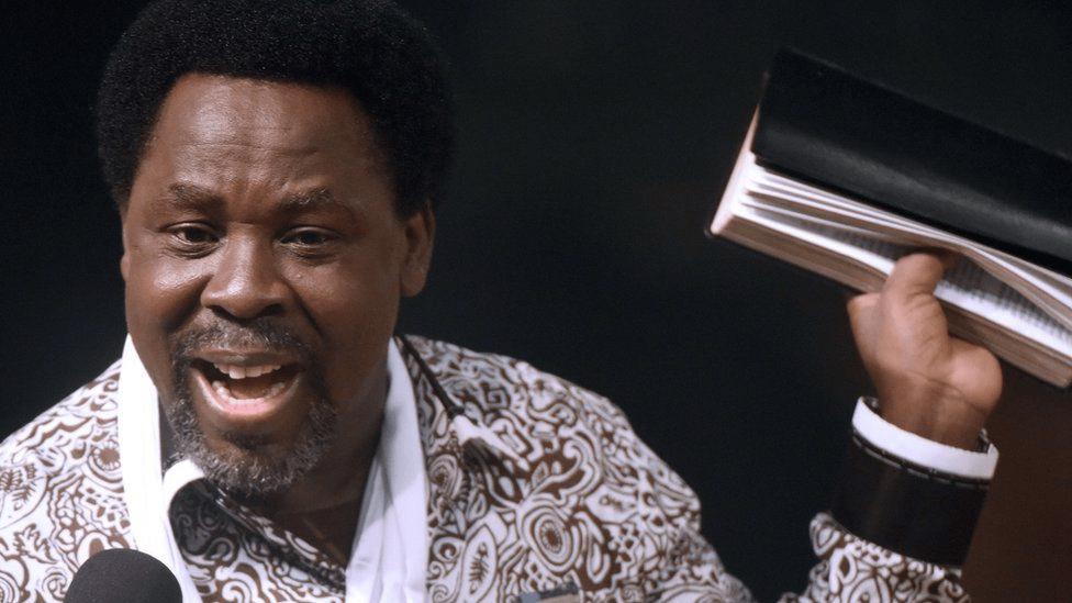 Nigerian TELevangelist TB Joshua