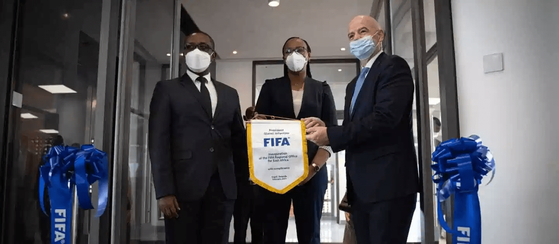 Inauguration of FIFA Regional Development Office in Kigali