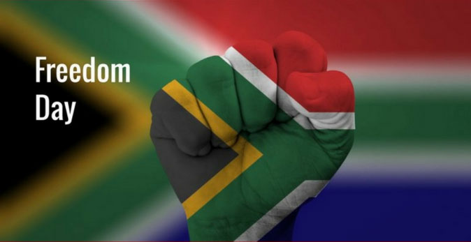 Freedom Day in South Africa
