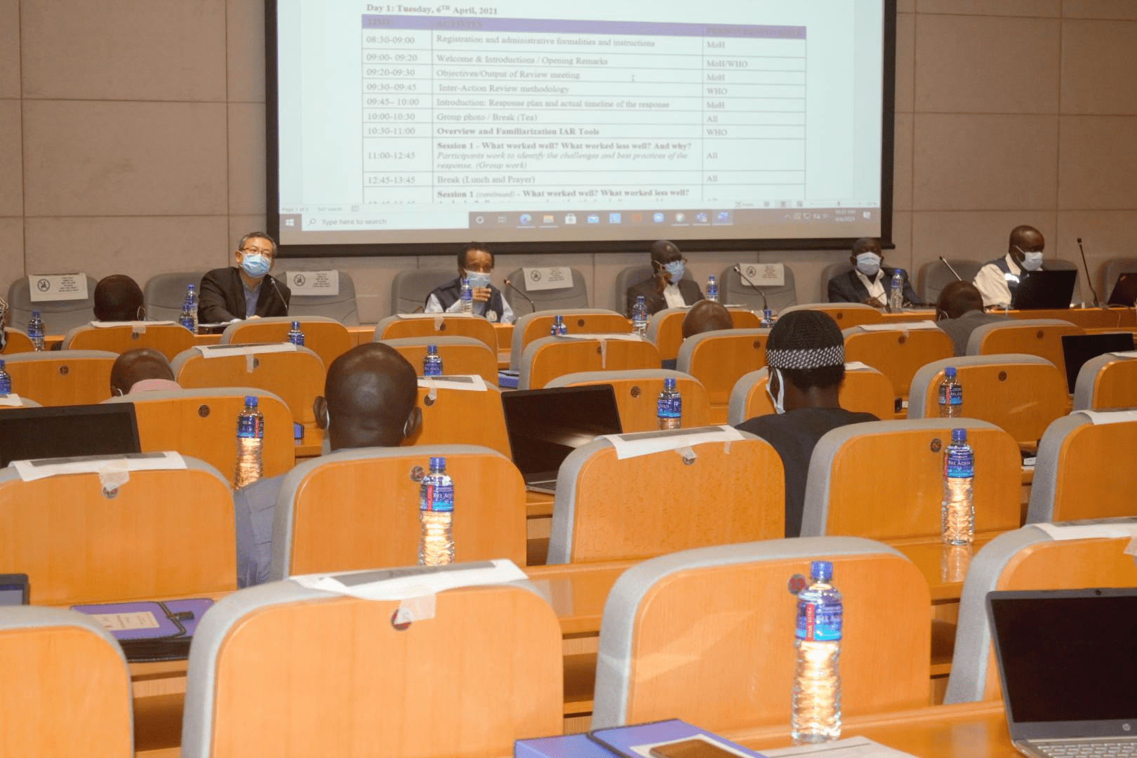Government and Stakeholder Take Stock of The Gambia's COVID-19 Response